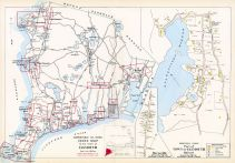 Falmouth Town - Index Map, Falmouth Town - Quisset, Barnstable County 1905