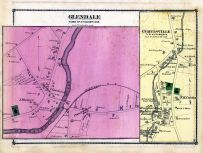 Glendale Town, Curtisville Town, Berkshire County 1876