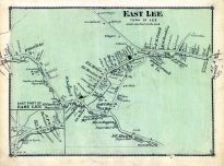 Lee Town east, Lee town East Part, Berkshire County 1876