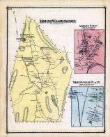 Mont Washington Town, Ashly Falls Town, Sheffield Town Plan, Berkshire County 1876