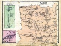 Savoy, Savoy Hollow town, Wooden Co. Glen Town, Berkshire County 1876