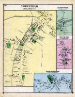 Sheffield town, Hartville Town, Southfiel Town, New Marborough Town, Berkshire County 1876