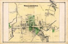 Williamstown Town, Berkshire County 1876