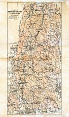 Berkshire County Map, Berkshire County 1904