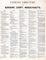 Patrons Directory 1, Berkshire County 1904