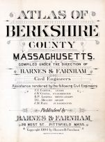 Title Page, Berkshire County 1904