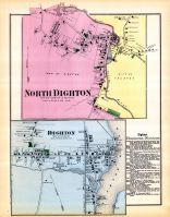 Dighton Town North, North Digton Town, Dighton Town, Bristol County 1871