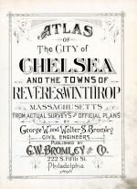 Title Page, Chelsea - Revere - Winthrop 1896