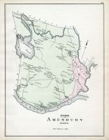 Amesbury Town, Essex County 1884