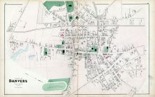 Danvers Village, Essex County 1884