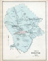 Middleton Town, Essex County 1884