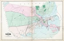 Salem City, Essex County 1884