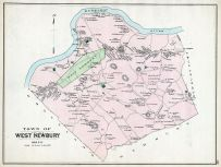 West Newbury Town, Essex County 1884