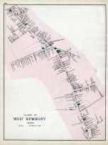 West Newbury Village, Essex County 1884