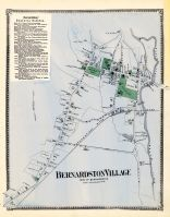 Bernardston Village Town, Franklin County 1871