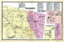 Coleraine, Leydon, Foundry Village - Coletraine, Willis Place - Coletrane, Lyonsville - Coletrane, Coletrane Center, Griswald Village - Coletrane, Franklin County 1871