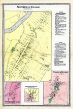 Northfield Village Town, Warwick Center, Northfield West, West Northfield, Northfield Farms, Franklin County 1871