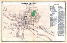 Orange Center, Franklin County 1871