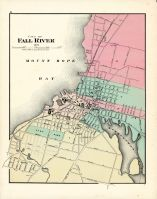 Fall River City, Massachusetts State Atlas 1871