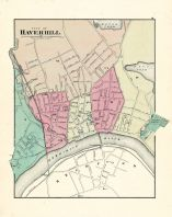 Haverhill City, Massachusetts State Atlas 1871