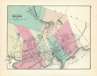 Lynn City, Massachusetts State Atlas 1871