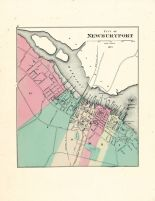 Newburyport City, Massachusetts State Atlas 1871