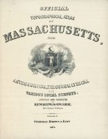 Title Page, Massachusetts State Atlas 1871