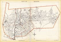 Malden City, Massachusetts State Atlas 1891
