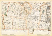 Plate 022, Berkshire, Hampden, Hampshire, Becket, South Hadley, Springfield, Tolland, Massachusetts State Atlas 1891