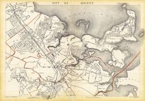 Quincy City, Massachusetts State Atlas 1891