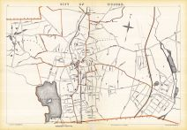 Woburn City, Massachusetts State Atlas 1891