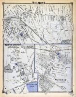 Belmont Town, Mont Auburn Town, Waverly Town, Middlesex County 1875