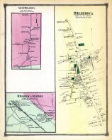 Billerica town South, South Billerica, Billerica Town, Billerica Town Station, Middlesex County 1875