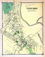 Concord Town, Middlesex County 1875