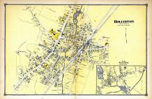 Holliston Town, Holliston Town East, East Holliston Town, Middlesex County 1875
