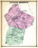Littleton and Boxborough, Boxborough and Littleton, Middlesex County 1875