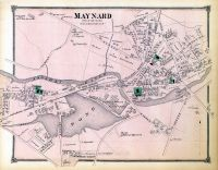 Maynard Town, Middlesex County 1875