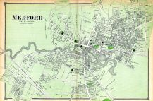 Medford Town, Middlesex County 1875