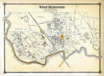 Medford Town West, West Medford Town, Middlesex County 1875