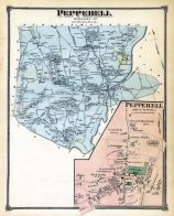 Pepperell, Pepperell Town, Middlesex County 1875