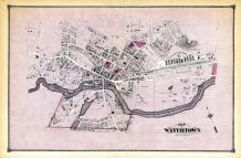Watertown Map, Middlesex County 1875