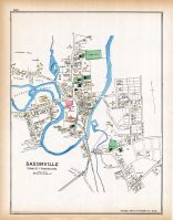 Saxonville, Middlesex County 1889