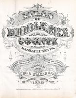Middlesex County 1889
