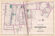 Newtonville - Plate D - Ward 2 East Part, Newton 1874