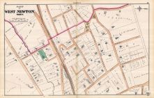 West Newton - Plate F - Ward 3 West, Newton 1874