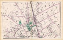 West Newton - Plate G - Ward 3 West, Newton 1874