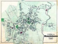 Middleborough Village, Plymouth County 1879