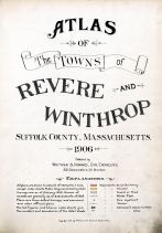 Title Page, Revere and Winthrop 1906