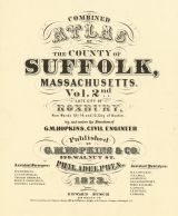 Title Page, Suffolk County 1873 Vol 2 Roxbury
