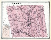 Barre, Barre Plains, Worcester County 1870